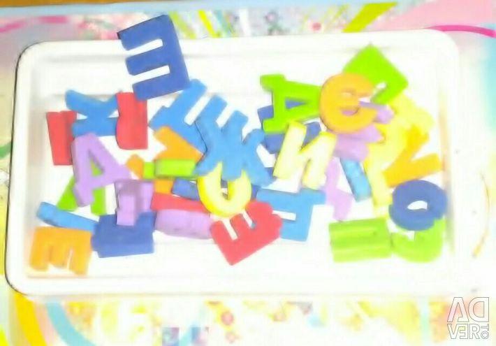 Βιβλίο-παιχνίδι * αστεία γράμματα και λέξεις *