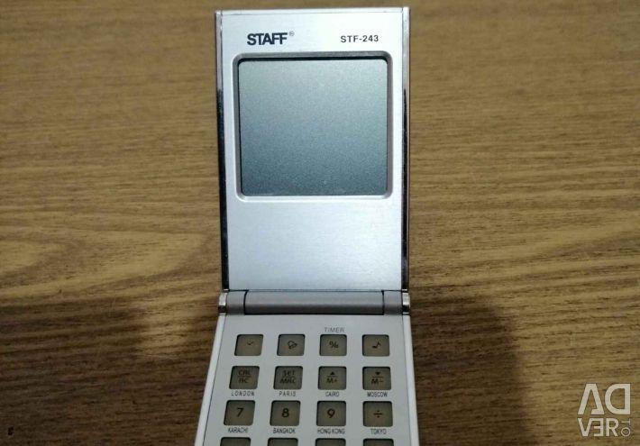 Калькулятор - календарь Staff STF -243