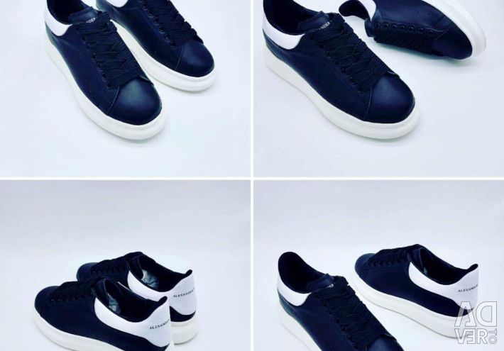 Alexander McQueen Leather 36/40 Sneakers