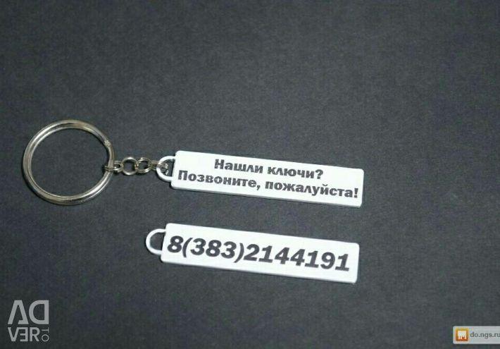Nethereka Keychain