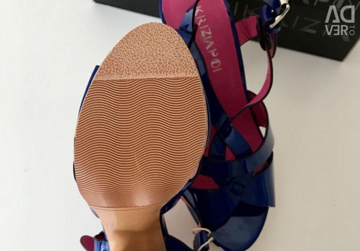 Sandale noi Krizia Poi 35 p
