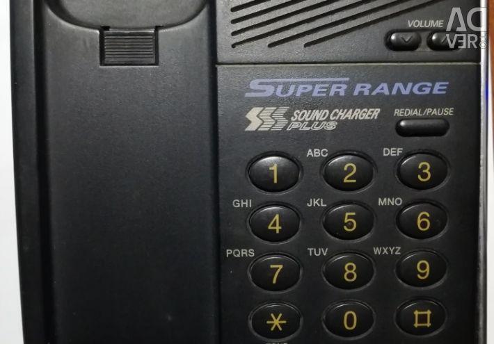 Telefon fără fir Panasonic KT-TC423RU-B
