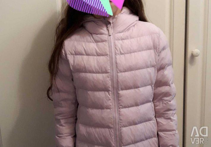 Куртка с небольшим утеплением (летний пуховик)