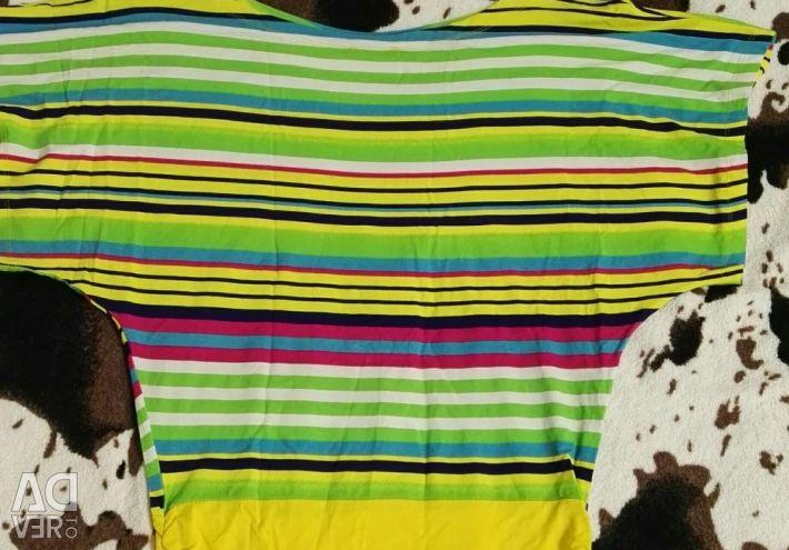 Μπλουζάκι πουκάμισο φωτεινό νέο rn 44-46