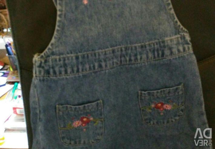 Sundress, real jeans, HM