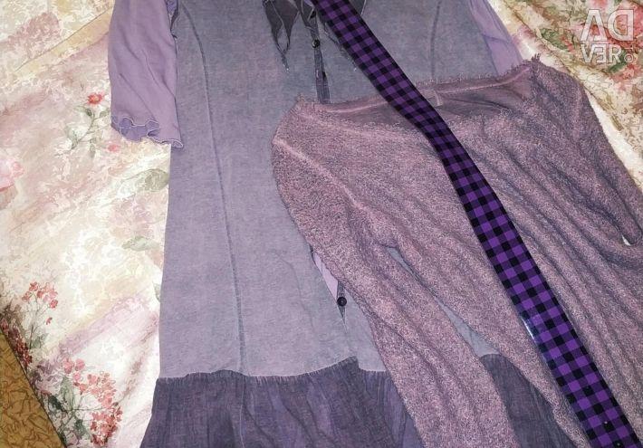 Tunică, cardigan, pulover