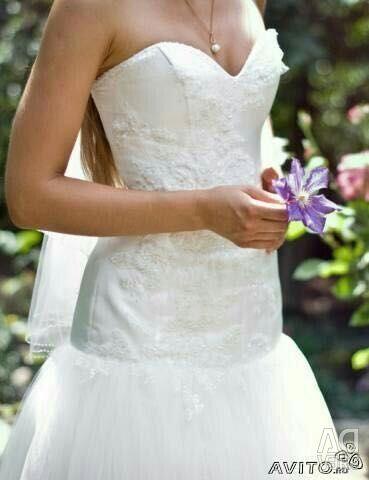 Французское свадебное платье