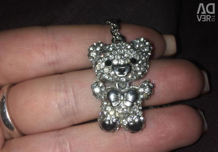 Pendant with a bear