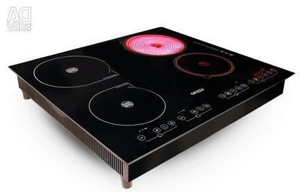 Ο πίνακας μαγειρέματος συνδυάζει το GINZZU HCI-479