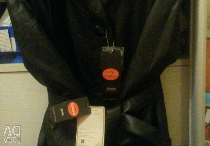 New Leather TORRINI italy jacket size. 50-52