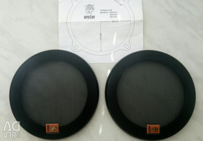 Protective grille (mesh) for speakers