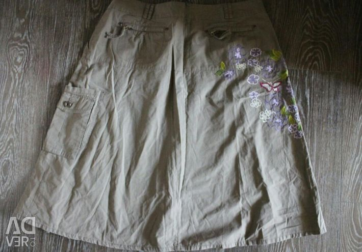 Beautiful skirt with embroidery