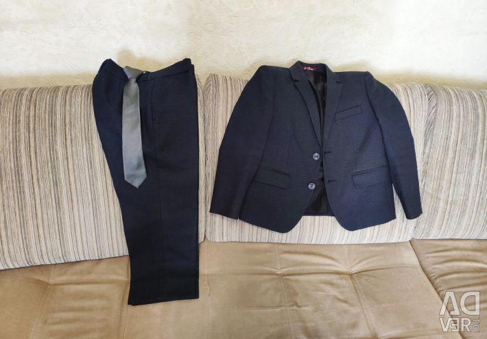 The suit is school, a school uniform