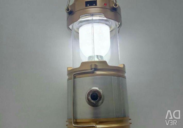 Lantern on a solar battery