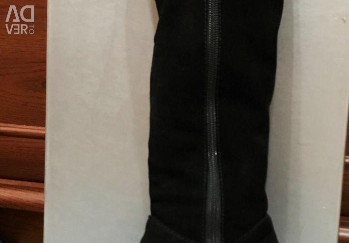 Suede boots (warm inside fur) Turkey