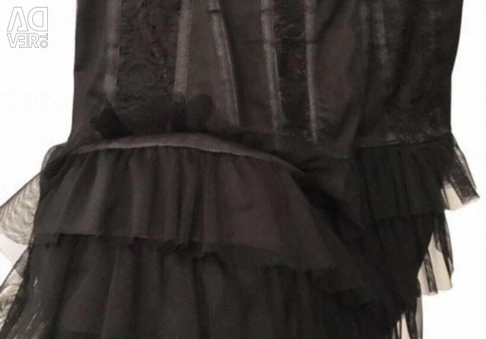 New evening / cocktail dress with lace Ital