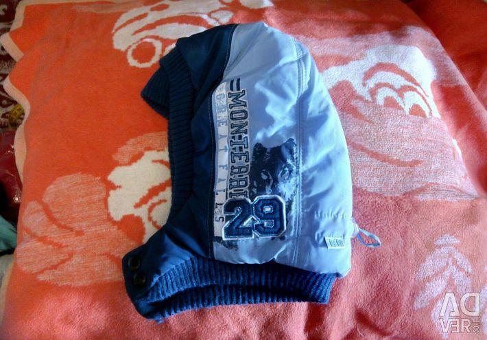Kış su geçirmez şapka 7-12 yıl
