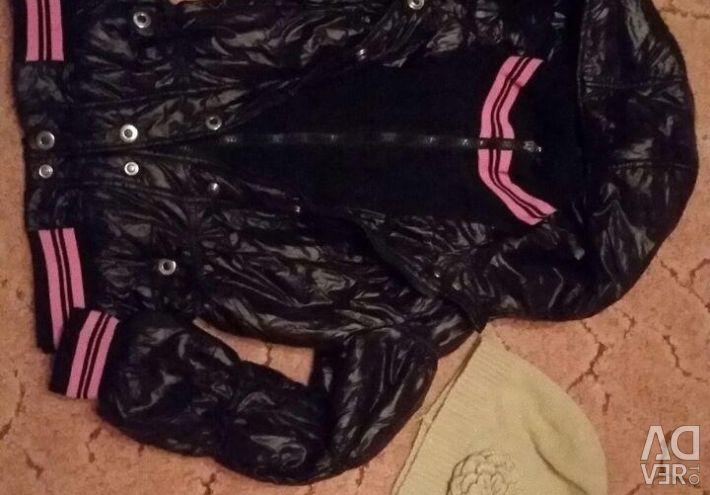 Autumn-spring jacket for girls 9-11