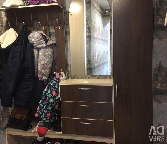 Apartment, 3 rooms, 57 m²