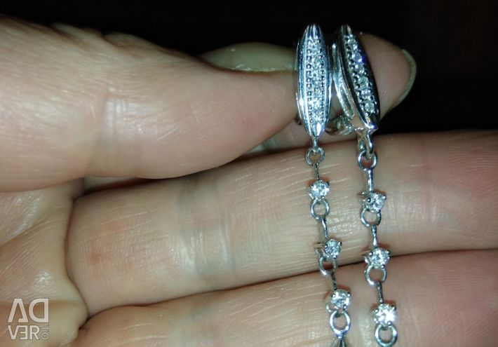 Aur alb cu diamante 585 Ave.