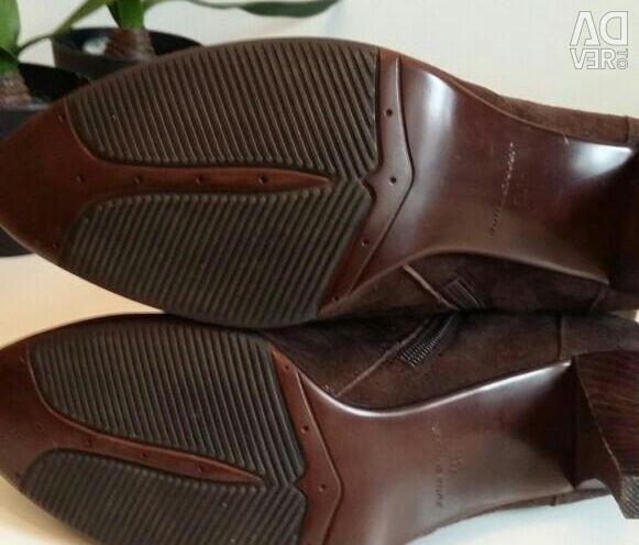 Suede μπότες νέα