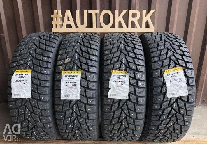 Χειμερινά ελαστικά R16 205 55 Dunlop
