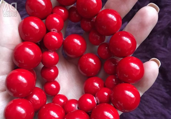 Beads stone coral