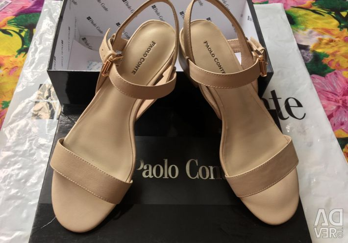 New sandals Paolo Conte