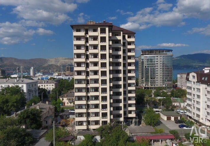 Apartment, 1 room, 49.9 m²