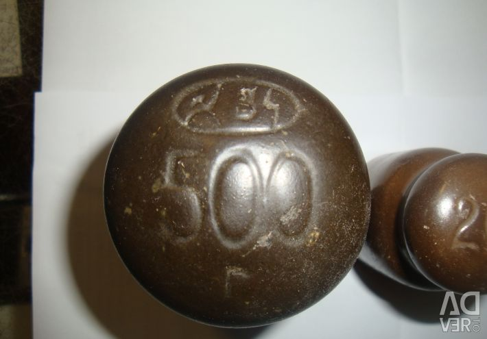 Weights for the USSR