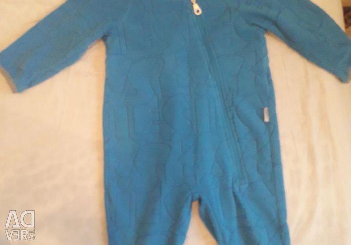 Jumpsuit fleece