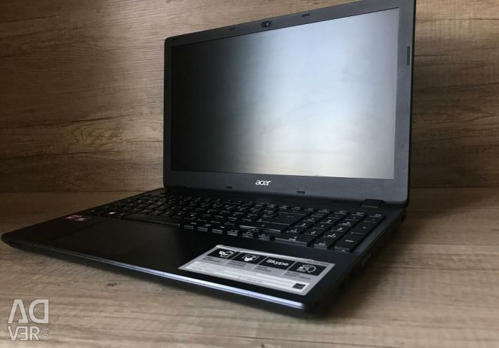 Acer e5-521 in the box with a powerful powerful check