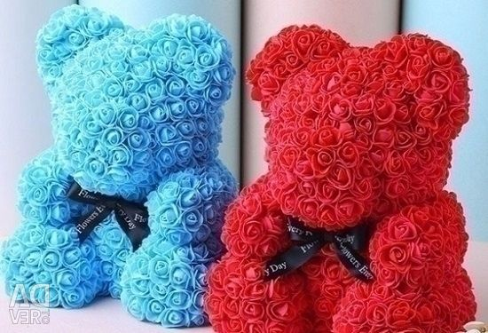 Bears from roses