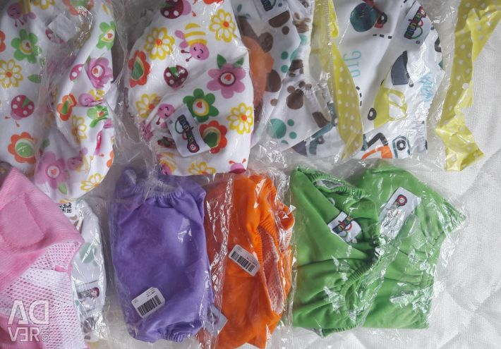 Reusable new diapers