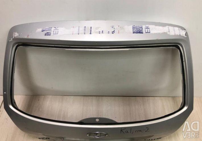 Lada Kalina trunk lid 2 x / oem 21946300020 (dents) (skl-3)