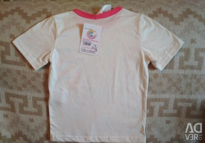 T-shirt. Dimensiunea-56, înălțime-86-92