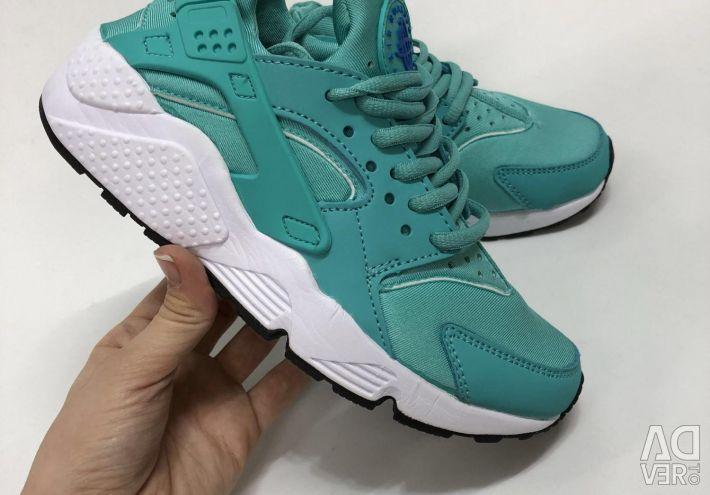 Кросівки Nike huarache бірюзові