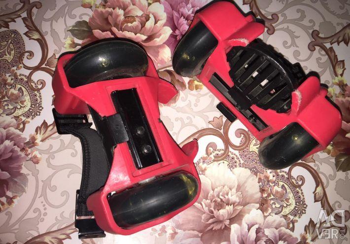 Mounts rollers