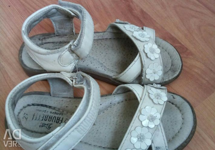 Sandals 18 and 18 cm on the insole