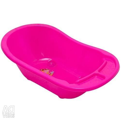 Bathtub children's with discharge and the thermometer 84cm