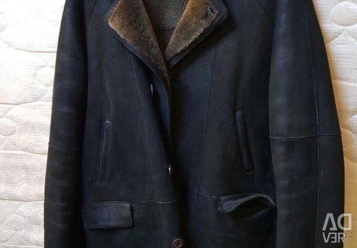 Sheepskin coat for men