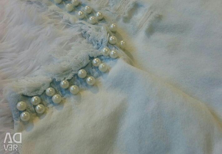 Джинсова коротке плаття 44