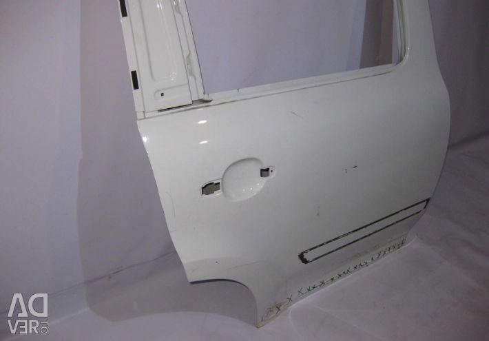 Right rear door Skoda Yeti (09>) oem 5L0833610 (Dent) (skl-3)