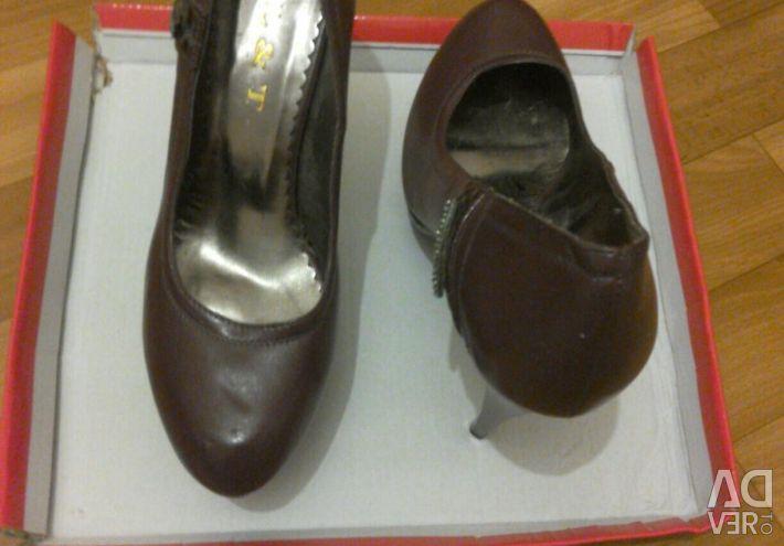 Kadın ayakkabı, Bordeaux, 39 beden
