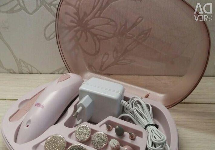 Apparatus for manicure and pedicure Vitek Shine
