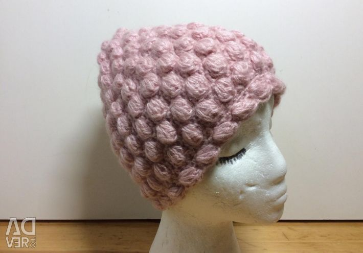 Очаровательная шапочка на девочку, 53-56, арт 226