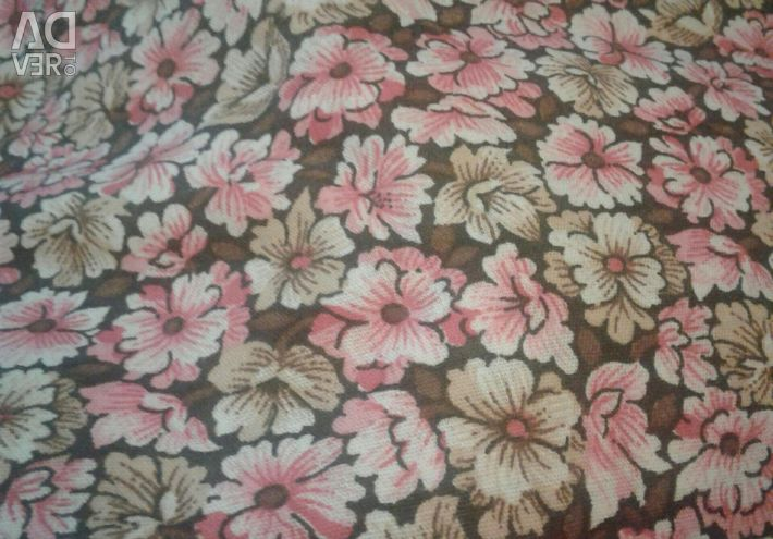 Chintz imported, two colors