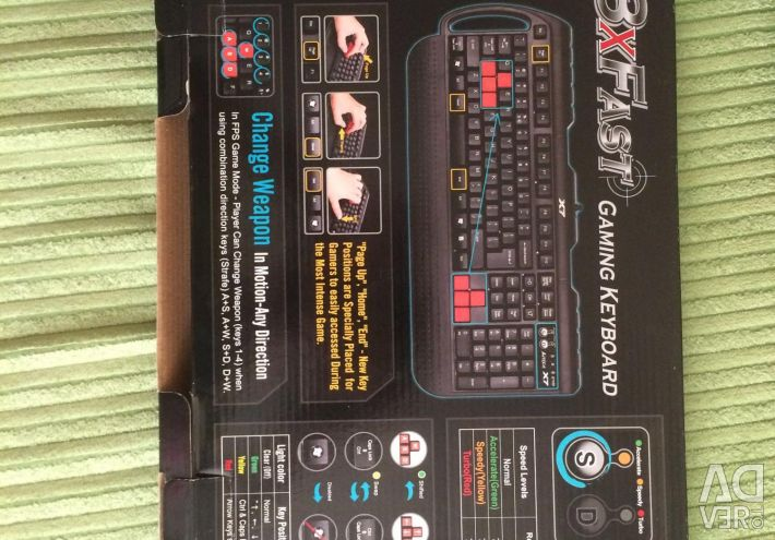 Gaming keyboard new