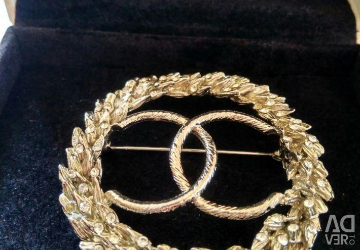 Brooch Chanel spikelet