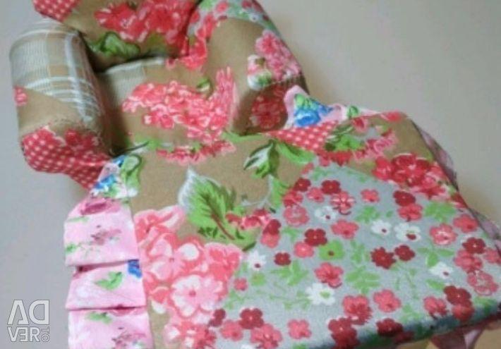 Upholstered furniture for dolls tree